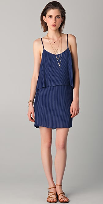 Parker Pleated Dress