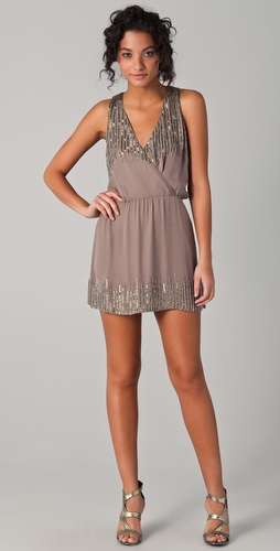 Parker Chain Sequin Dress
