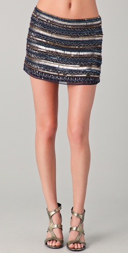 Parker Tribal Beaded Skirt