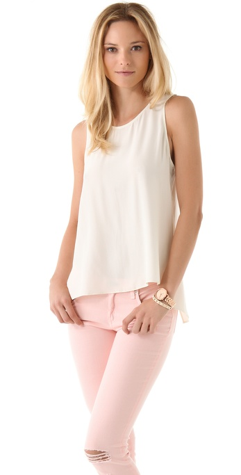 Parker Cross Back Top
