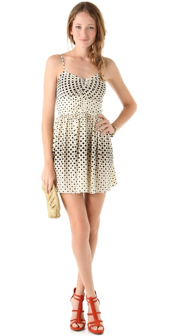Parker Ruched Front Tank Dress