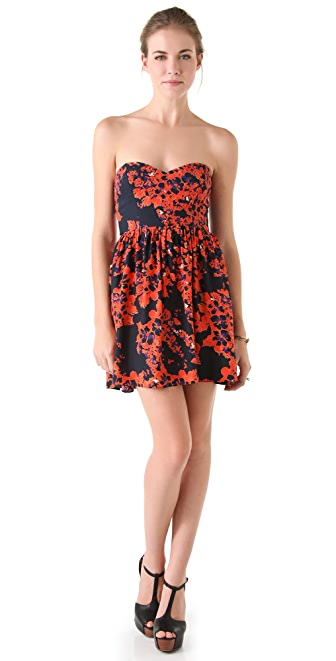 Parker Quilted Empire Dress