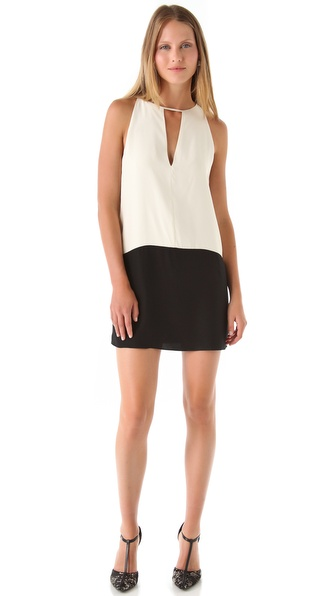 Parker Combo Keyhole Dress