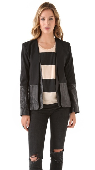 Parker Combo Boyfriend Jacket