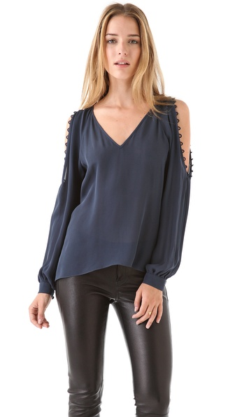 Parker Button Loop Top