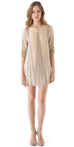 Shop Parker Art Deco Beaded Dress and Parker online - Apparel, Womens, Dresses, Cocktail, Night_Out,  online Store