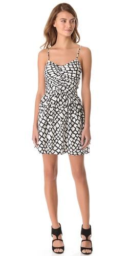 Parker Ruched Front Dress