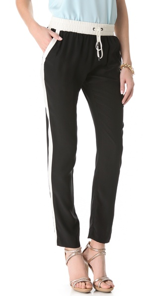 Parker Silk Track Pants
