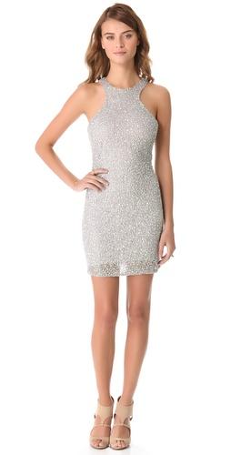 Parker Iridescent Sequin Dress