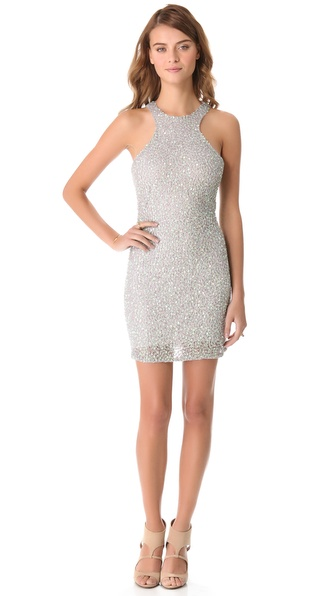 Parker Iridescent Sequin Dress