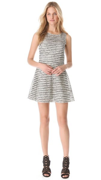 Parker Mesh Panel Dress