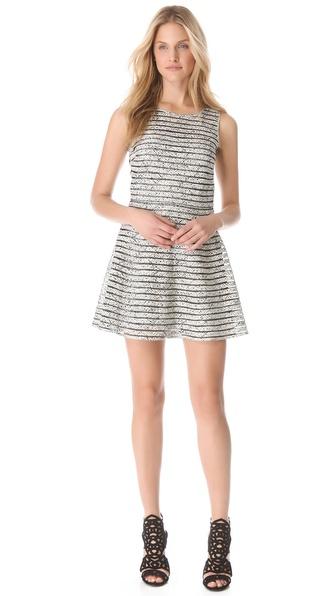 Parker Mesh Panel Dress