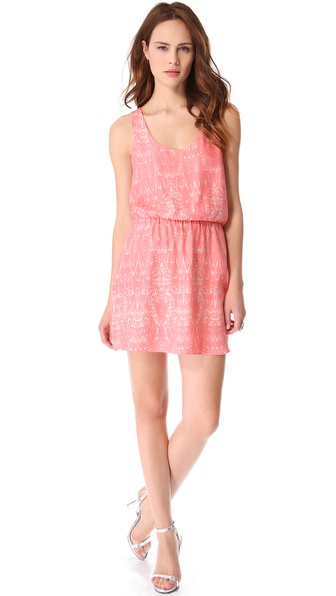 Parker Daria Cinched Waist Dress