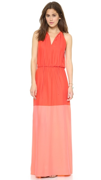 Parker Avalon Combo Maxi Dress