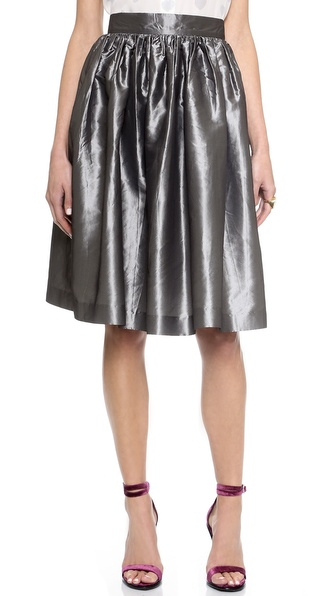 Partyskirts By Skot Katie'S Party Skirt - Sophisticated Steel