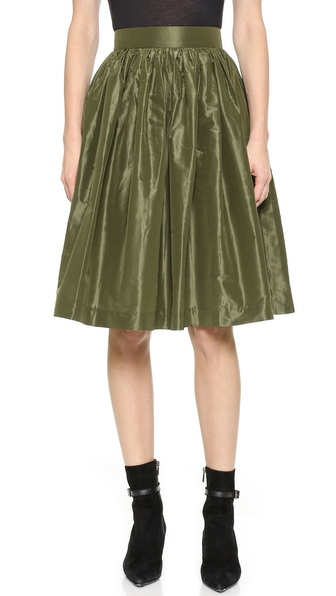 Partyskirts By Skot Nicole'S Party Skirt - Field Green