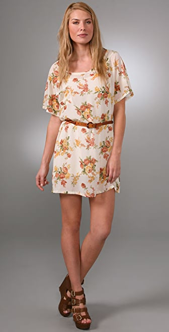 PJK Patterson J. Kincaid Pocket Belted Dress