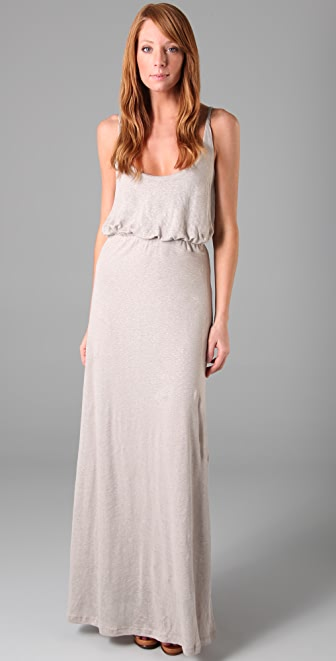 PJK Patterson J. Kincaid Celeste Linen Long Dress