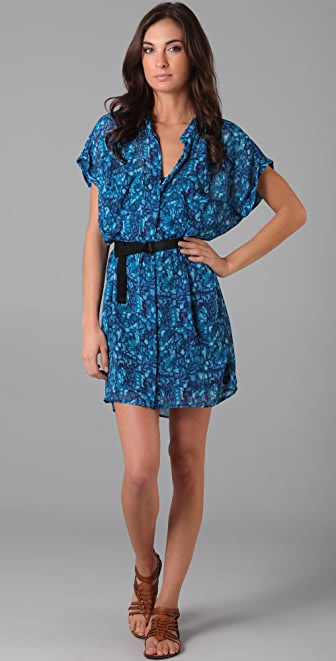 PJK Patterson J. Kincaid Harlow Belted Dress