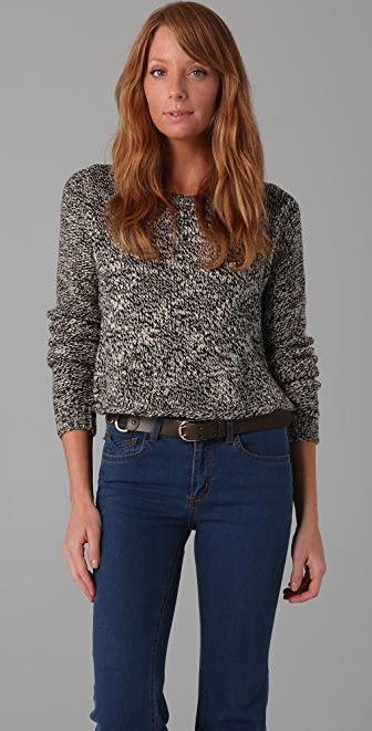 PJK Patterson J. Kincaid Melinda Cropped Sweater