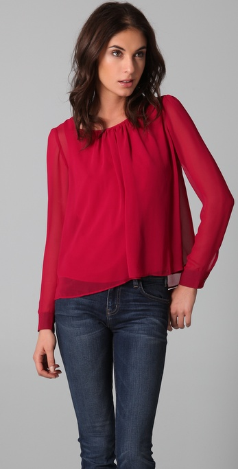 PJK Patterson J. Kincaid Astral Blouse