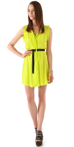 PJK Patterson J. Kincaid Carmel Belted Dress