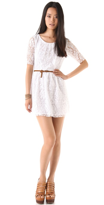 PJK Patterson J. Kincaid Darling Lace Dress