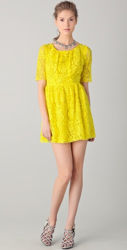 Patterson J. Kincaid Darling Lace Dress