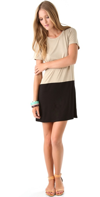PJK Patterson J. Kincaid Granite Shift Dress
