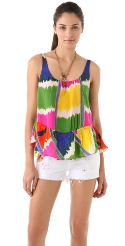 PJK Patterson J. Kincaid Ashby Ikat Tank