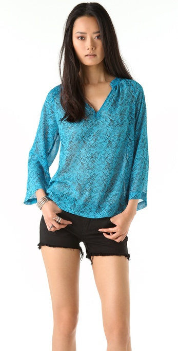 PJK Patterson J. Kincaid Kendley Tunic Blouse