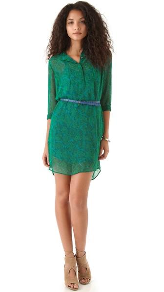 PJK Patterson J. Kincaid Nickie Belted Dress