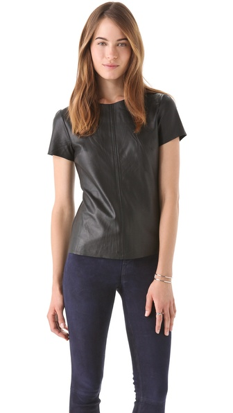 PJK Patterson J. Kincaid Rosemont Leather Tee