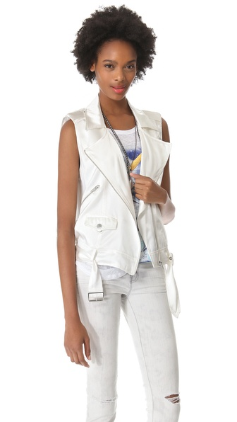 PJK Patterson J. Kincaid Man Repeller x PJK Flynn Moto Vest