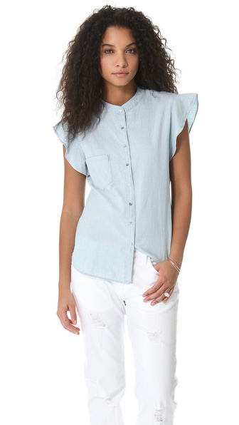 PJK Patterson J. Kincaid Man Repeller x PJK Pixie Ruffle Blouse