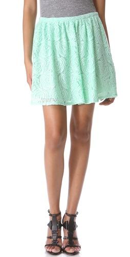 PJK Patterson J. Kincaid Raven Lace Skirt