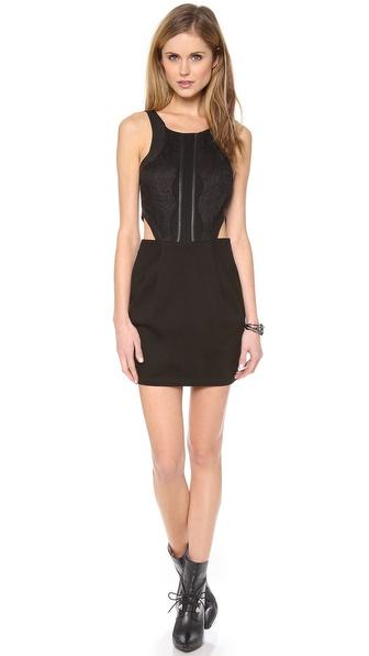 PJK Patterson J. Kincaid Lace Bodice Minx Dress