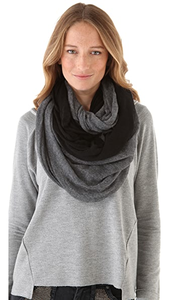 Paula Bianco Color Block Wrap Scarf