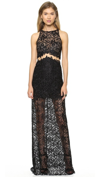 Patricia Bonaldi Long Lace Gown