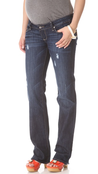 Paige Denim Jimmy Jimmy Maternity Boyfriend Jeans