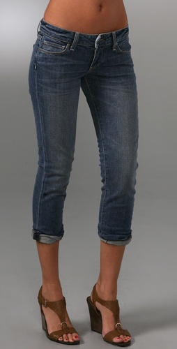 Paige Denim Venice Cropped Jeans