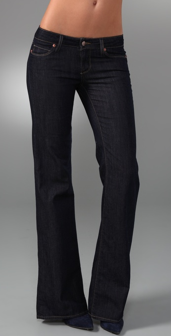 Paige Denim Bentley Wide Leg Jeans