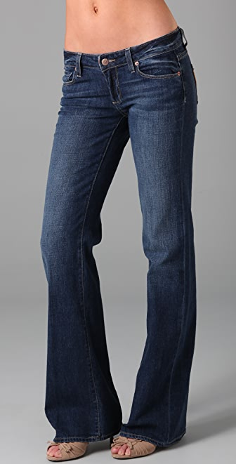 Paige Denim Bentley Wide Leg Jeans
