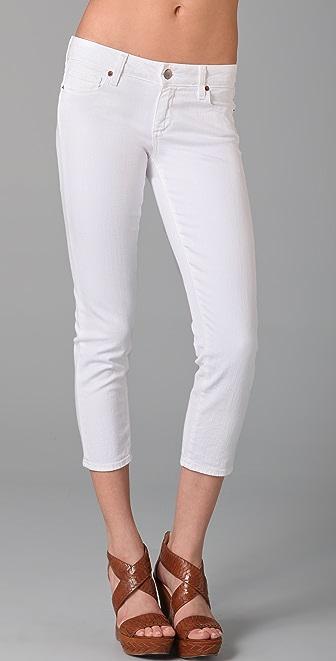 Paige Denim Roxbury Cropped Skinny Jeans