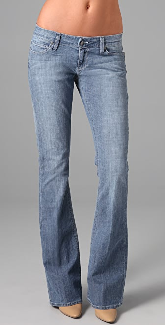 Paige Denim Paseo Relaxed Flare Jeans