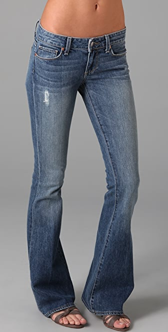 Paige Denim Bell Canyon Skinny Flare Jeans