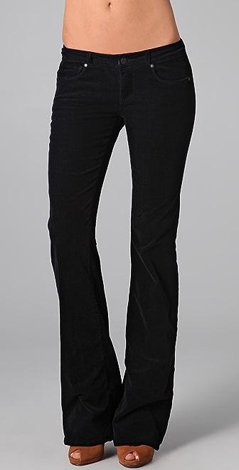 Paige Denim Bentley Corduroy Flare Pants