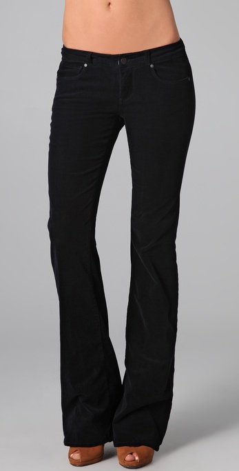 Paige Denim Bentley Corduroy Flare Pants