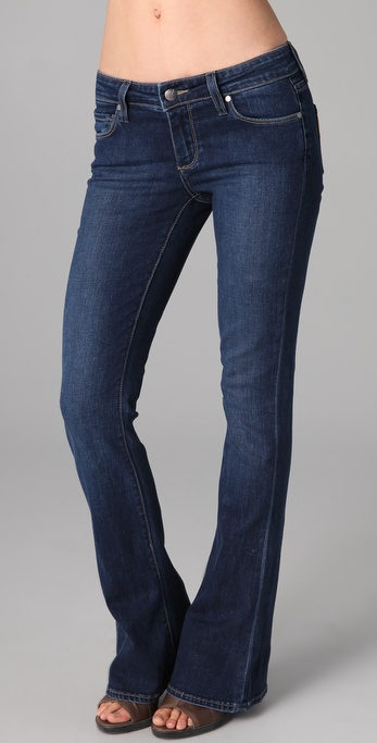 Paige Denim Lou Lou Petite Flare Jeans