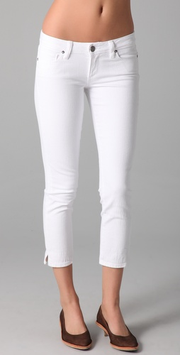 Paige Denim Kylie Crop Slit Jeans